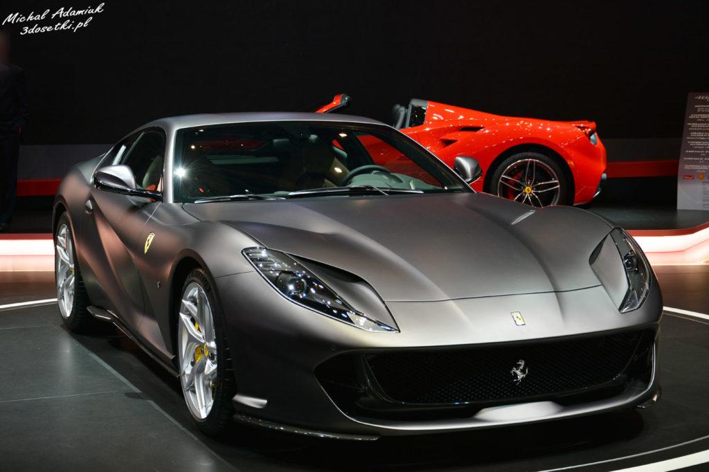 Genewa Motor Show 2017 - Ferrari 812 Superfast, blog motoryzacyjny, samochody