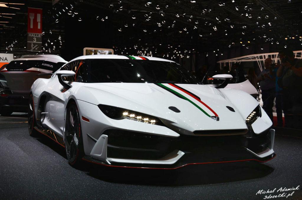Targi samochodowe w Genewie - premiera Italdesign Speciali Zeroun, premiery motoryzacyjne