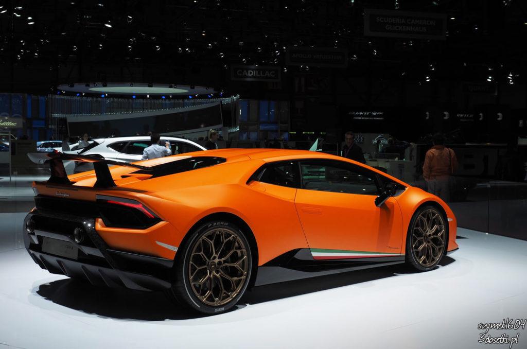 Genewa Motor Show 2017 - Lamborghini Huracan Performante na blogu motoryzacyjny