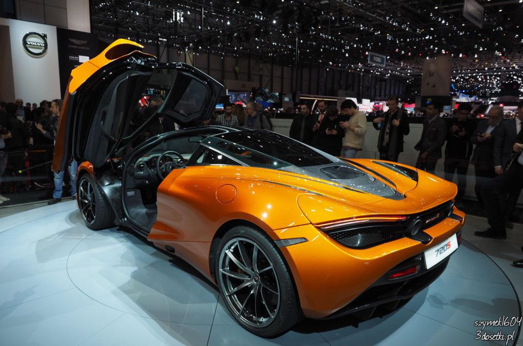 Genewa Motor Show 2017 - McLaren 720S, blog motoryzacyjny