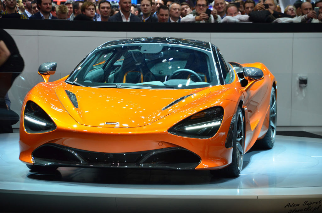 Genewa Motor Show 2017 - McLaren 720S