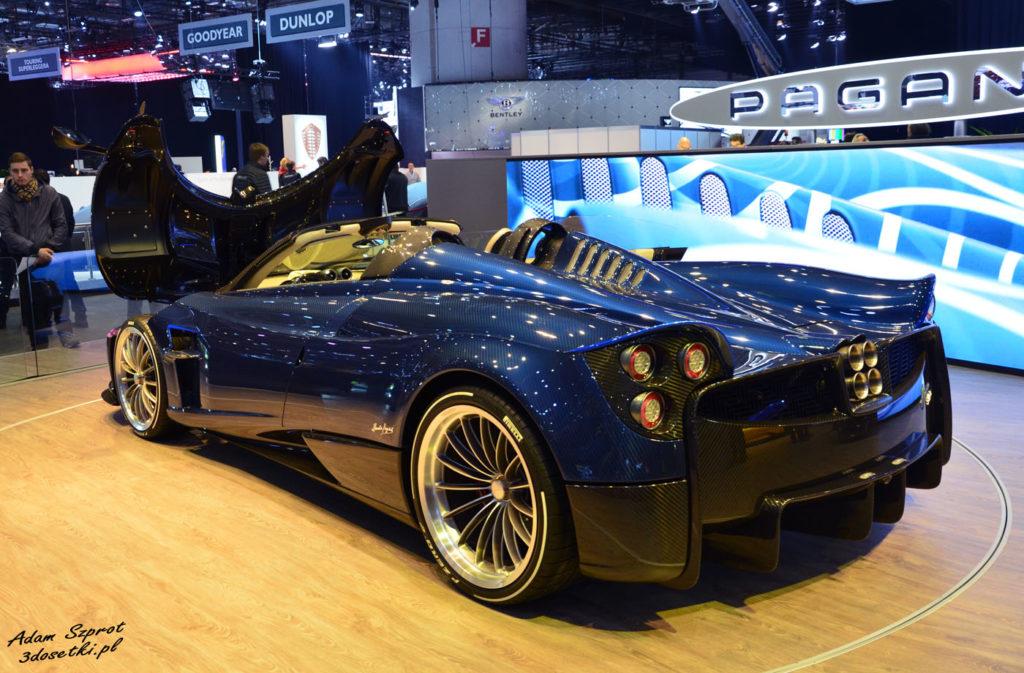 Targi samochodowe w Genewie - premiera Pagani Huayra Roadster na blogu motoryzaycjnym