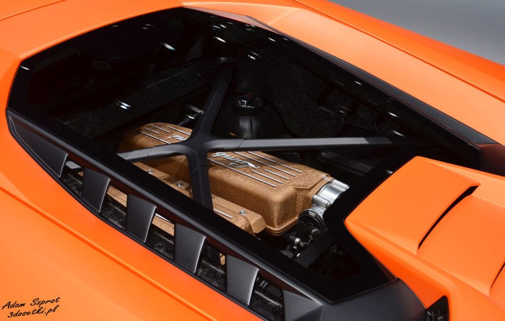 Silnik Lamborghini Huracan Performante na blogu motoryzacyjnym