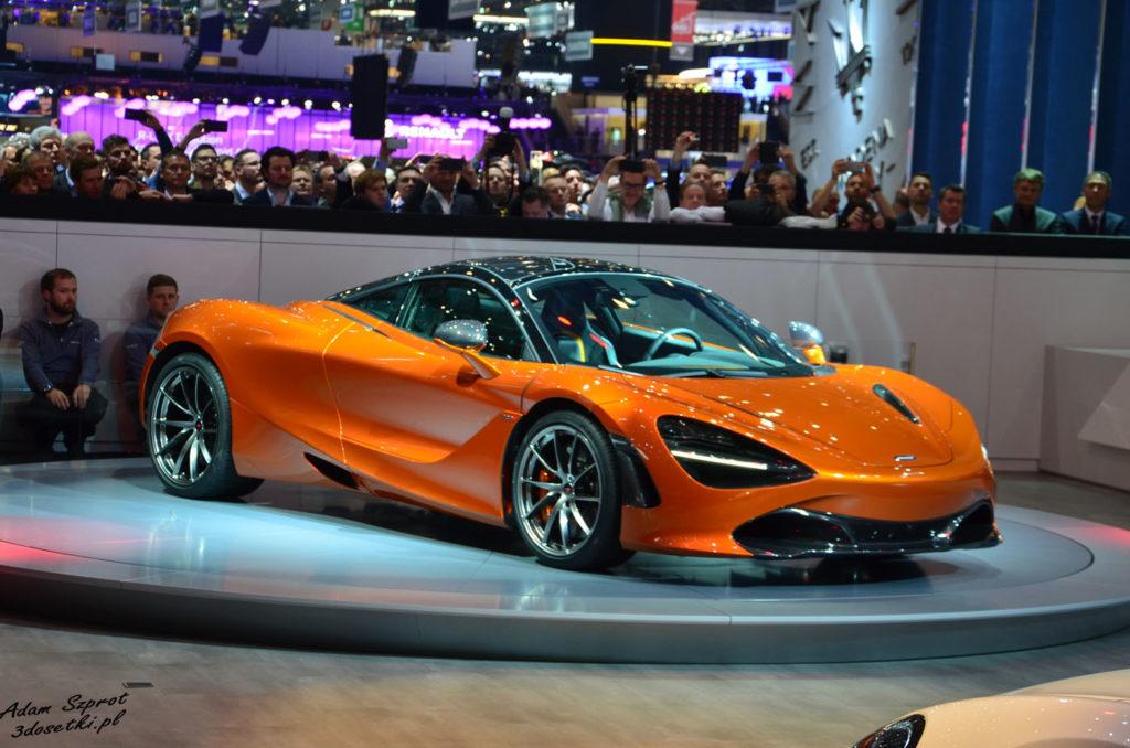 Premiera McLarena 720S na Geneva Motor Show 2017 - blog, serwis, premiery, motoryzacja, samochody