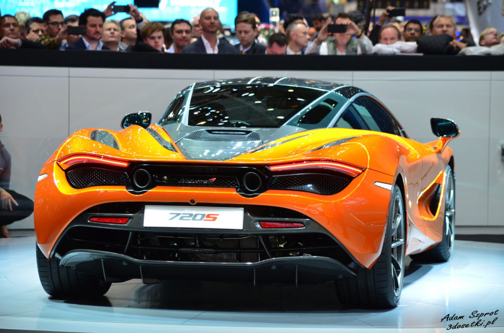 Premiera McLarena 720S na Geneva Motor Show 2017, premiery motoryzacyjne, blog o samochodach