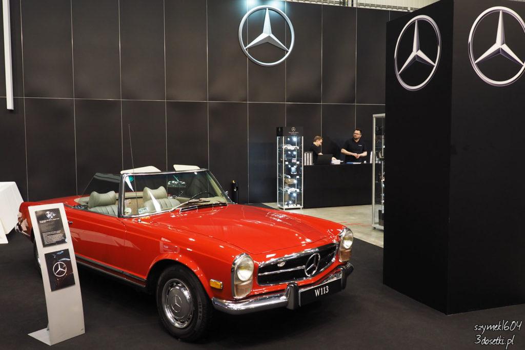 Auto Nostalgia 2017 - Mercedes, blog motoryzacyjny, relacje z targó motoryzacyjnych, opisy samochodów