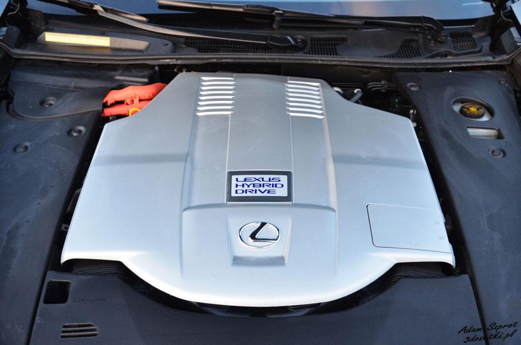 Lexus LS 600h L Superior – silnik hybrydowy