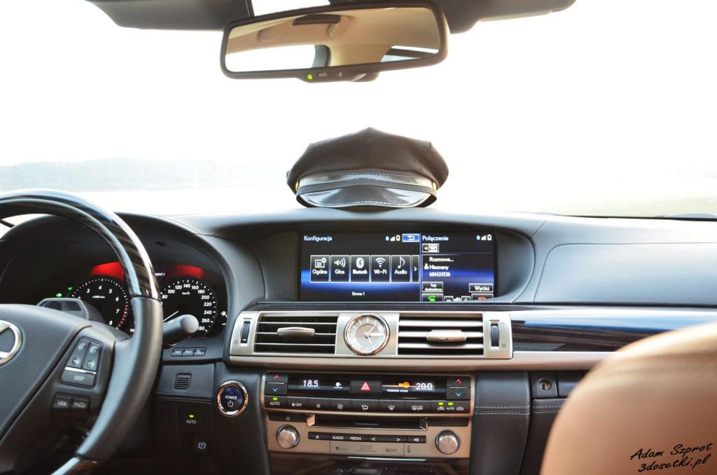 Lexus LS600h L Superior – test samochodu, portal motoryzacyjny