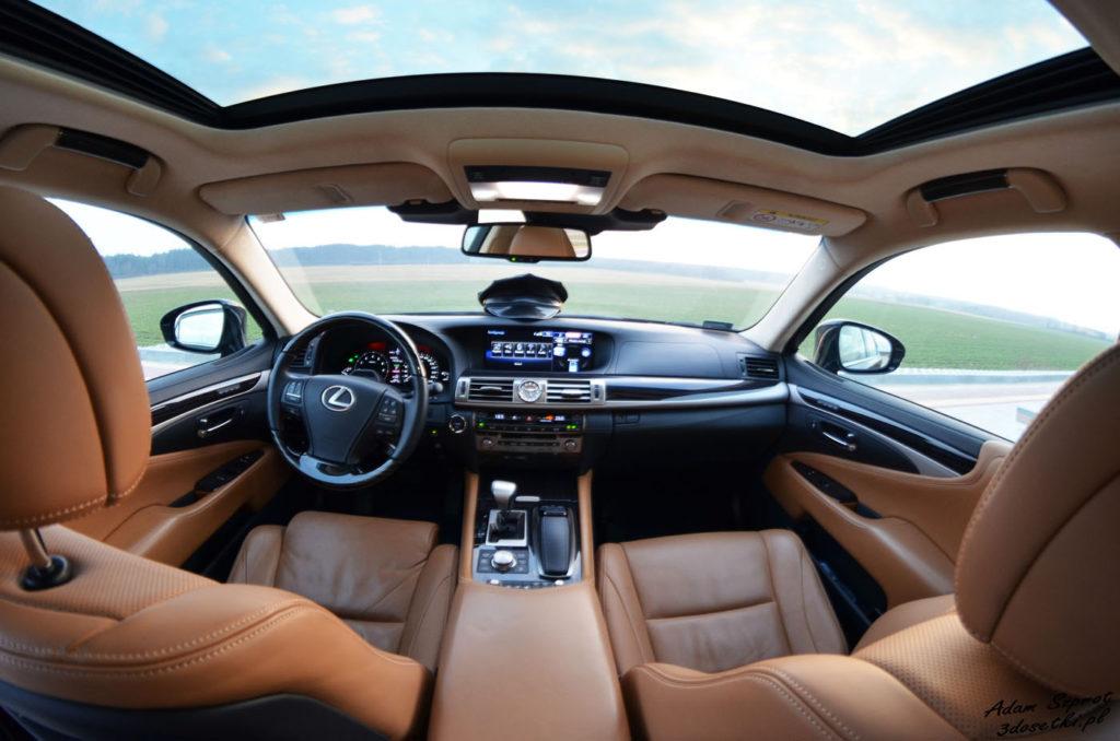 Lexus LS600h L Superior – luksusowe wnętrze