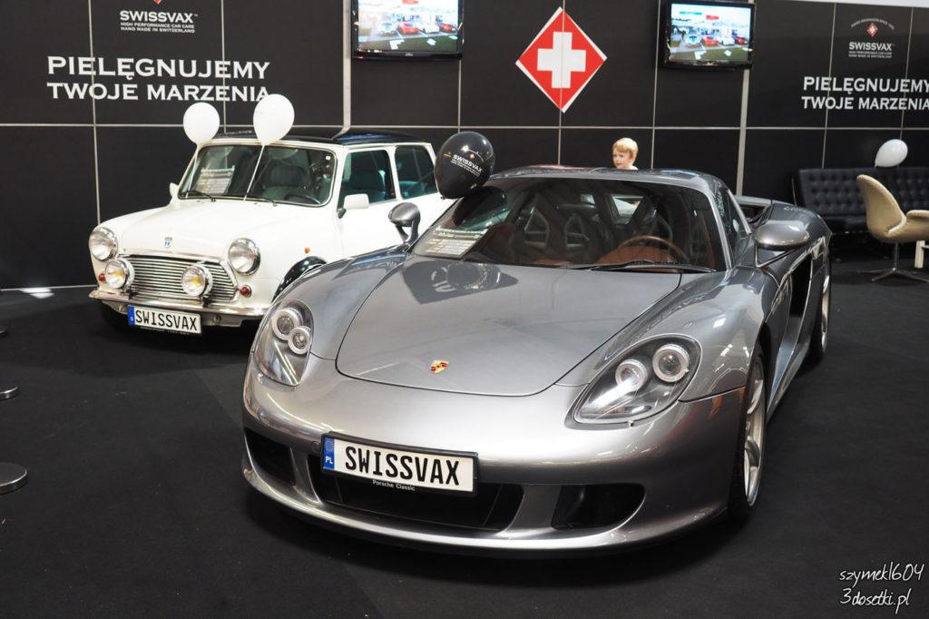 Oldtimer Warsaw Show 2017 - targi pojazdów zabytkowych w Nadarzynie - Porsche Carrera GT