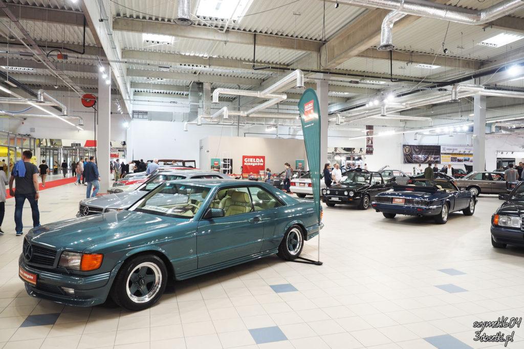 Oldtimer Warsaw Show 2017 - Mercedesy na wystawie samochodów