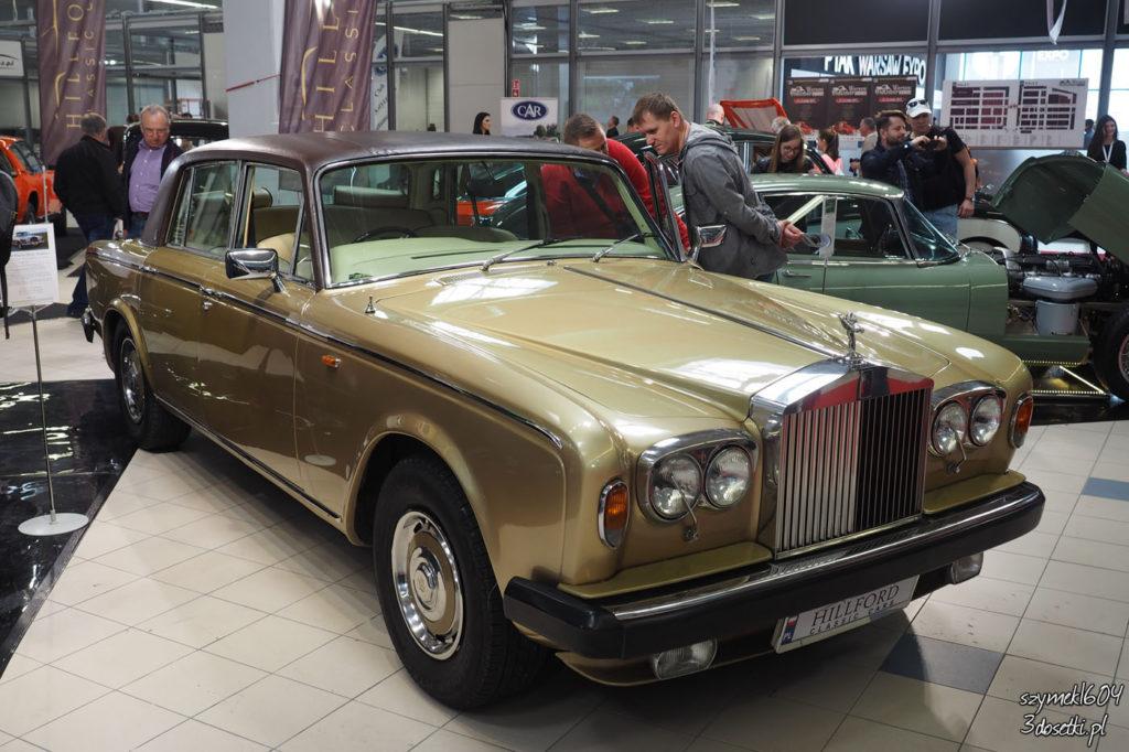 Oldtimer Warsaw Show 2017 - Rolls-Royce, blog motorzyacyjny, relacje z taróg motoryzacyjnych