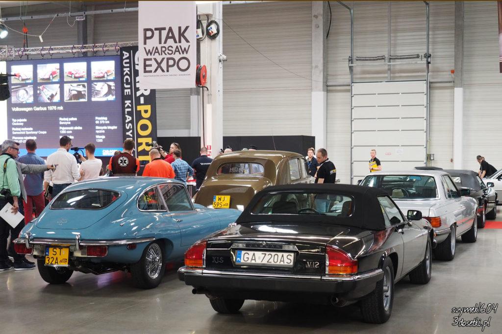 Oldtimer Warsaw Show 2017 - aukcja motoryzacyjna