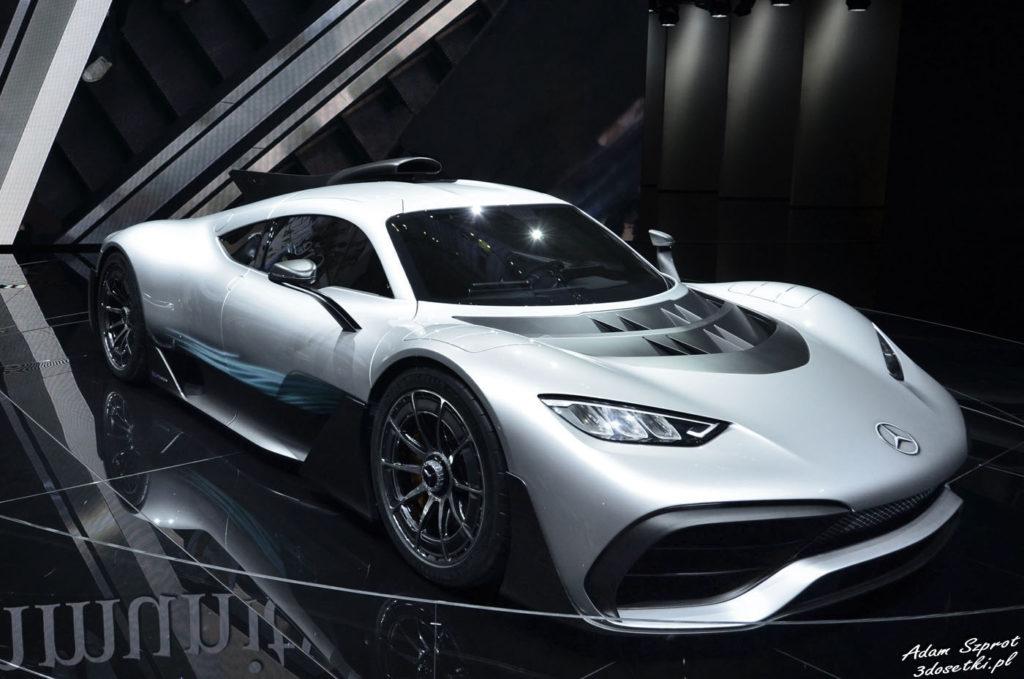 Mercedes-AMG Project ONE - premiera, blog samochodowy, motoryzacyjny