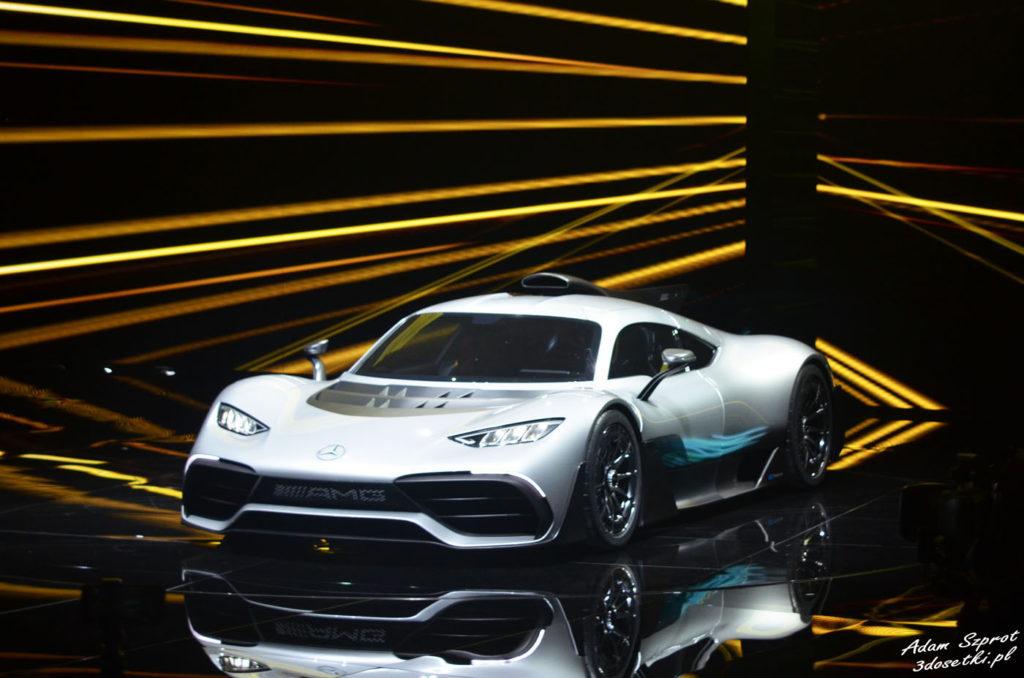 Mercedes-AMG Project ONE - premiera motoryzacyjna, targi samochodowe, blog