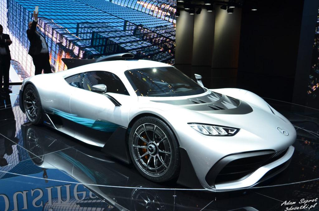 Mercedes-AMG Project ONE - premiera, targi samochodowe, premiery samochodów