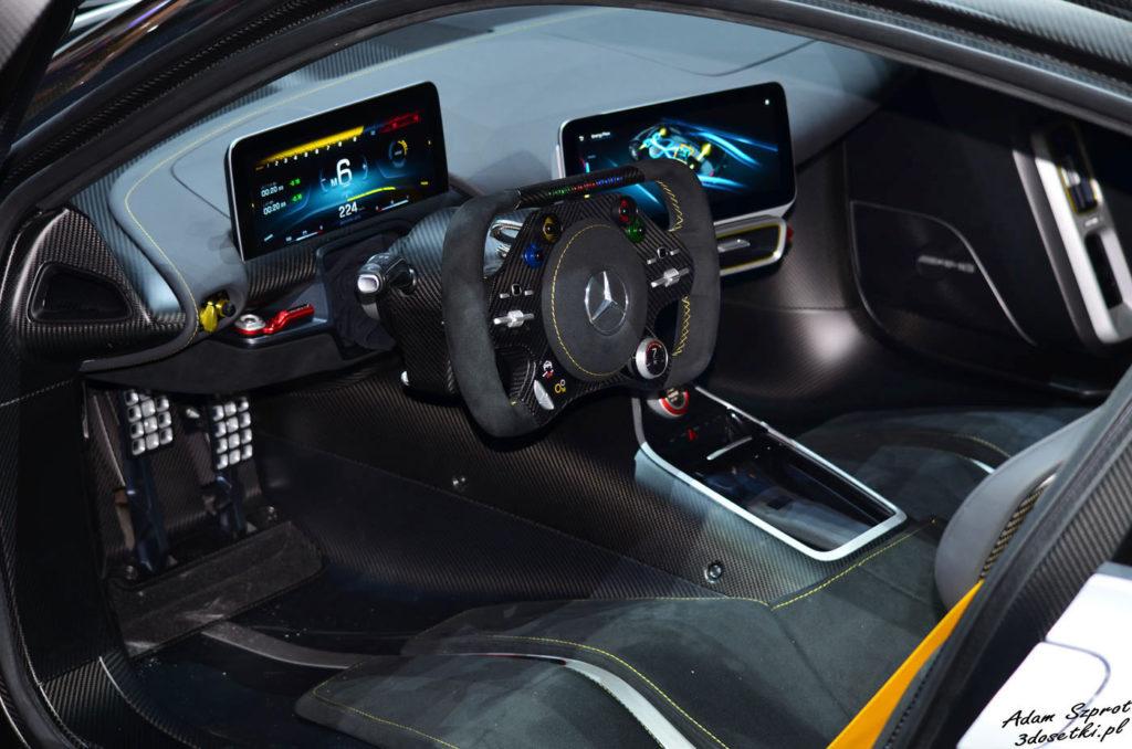Mercedes-AMG Project ONE - premiera, wnetrze