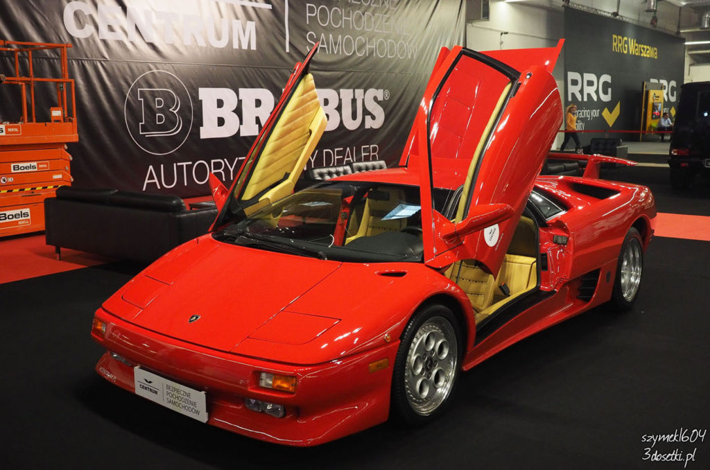 Warsaw Moto Show 2017 - relacja - Lamborghini Diablo - blog o motoryzacji