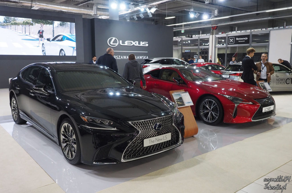 Warsaw Moto Show 2017 - relacja - Lexus - blog motoryzacyjny 3dosetki.pl