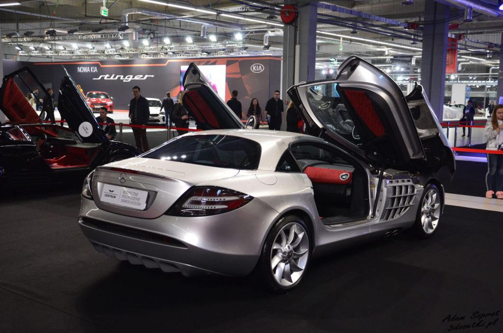 Warsaw Moto Show 2017 - relacja - Mercedes SLR Mclaren
