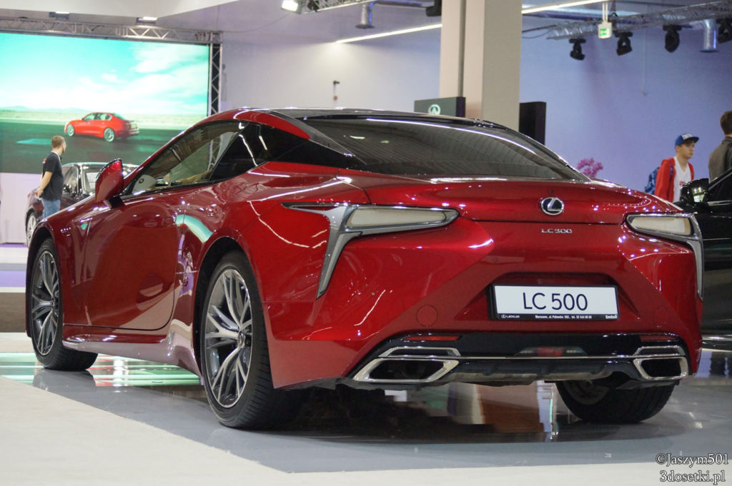 Warsaw Moto Show 2017 - relacja - Lexus - blog motoryzacyjny