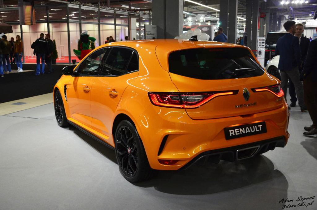 Warsaw Moto Show 2017 - relacja - Renault Megane R.S. - blog motoryzacyjny