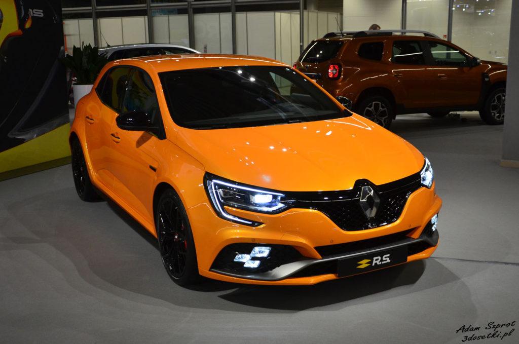 Warsaw Moto Show 2017 - relacja - Renault Megane R.S.