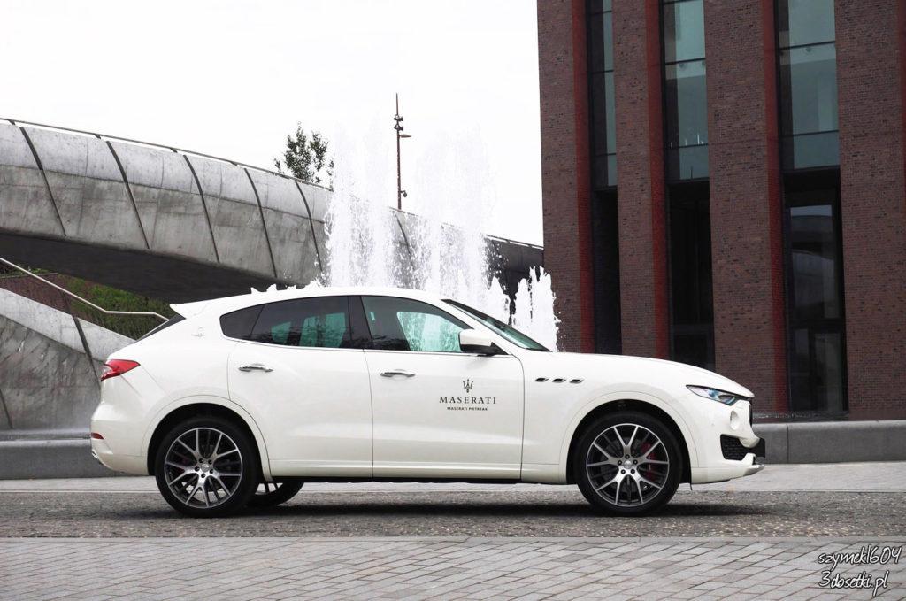 Dzień z Maserati - Maserati Levante S, rzut z boku