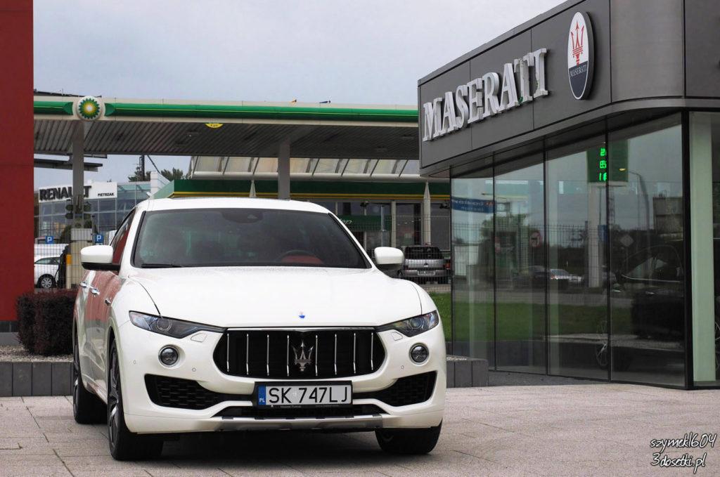 Dzień z Maserati - Maserati Levante S