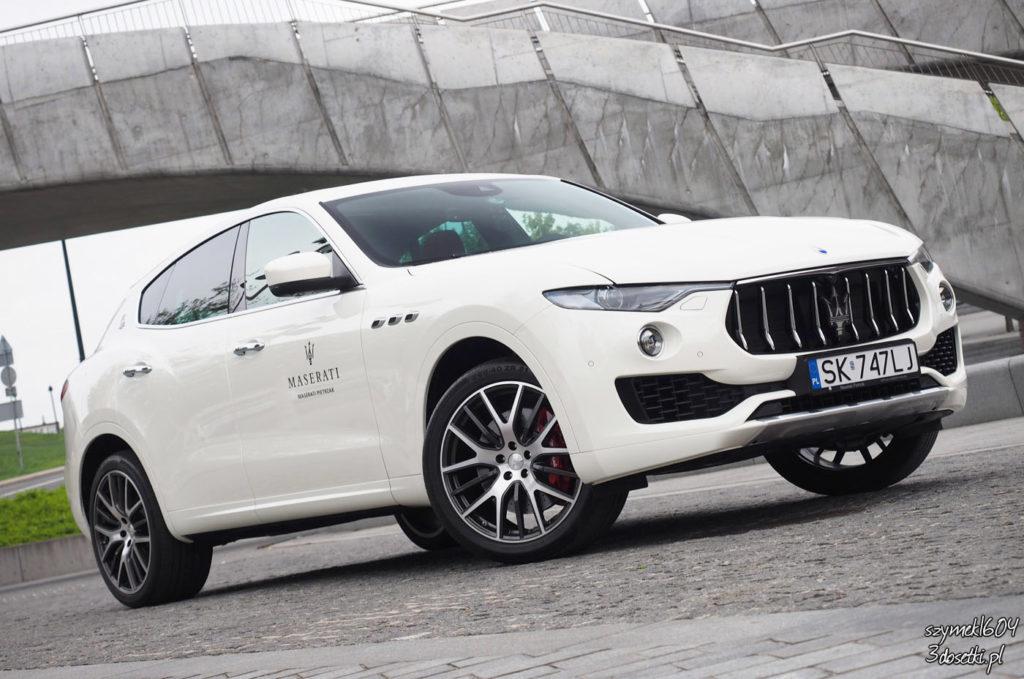 Test samochodu Maserati Levante S , blog moto