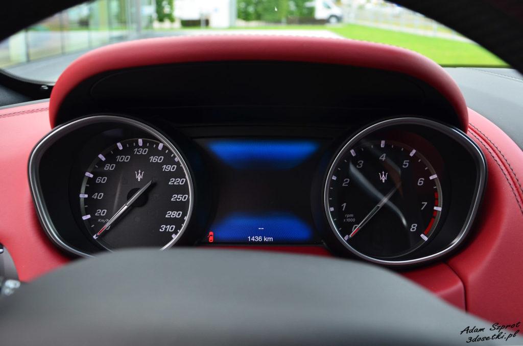 Zegary Maserati Levante S, blog motoryzacyjny
