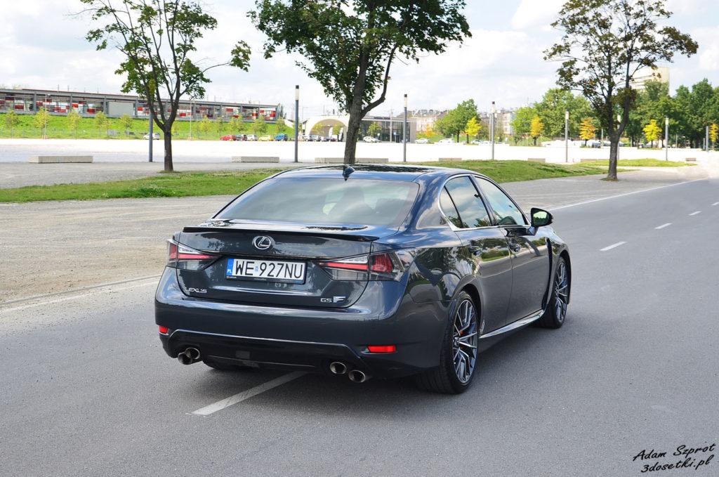 Test samochody Lexus GS F
