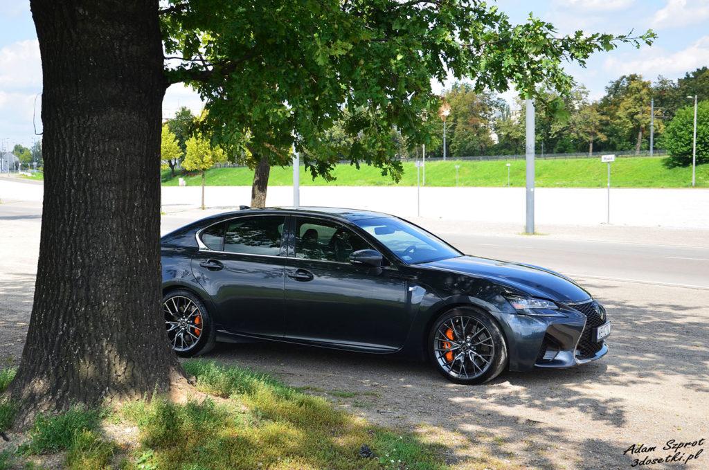 Test samochodu Lexus GS F 5,0l V8