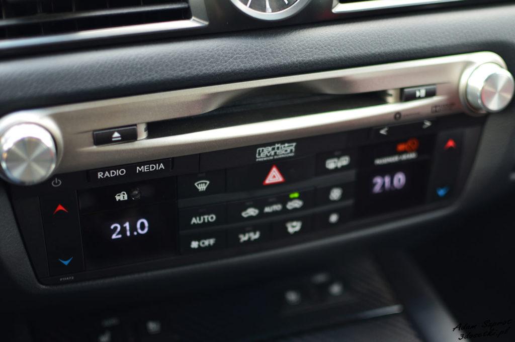 Szczegóły Lexusa GS F - blog motoryzacyjny, testy samochodów