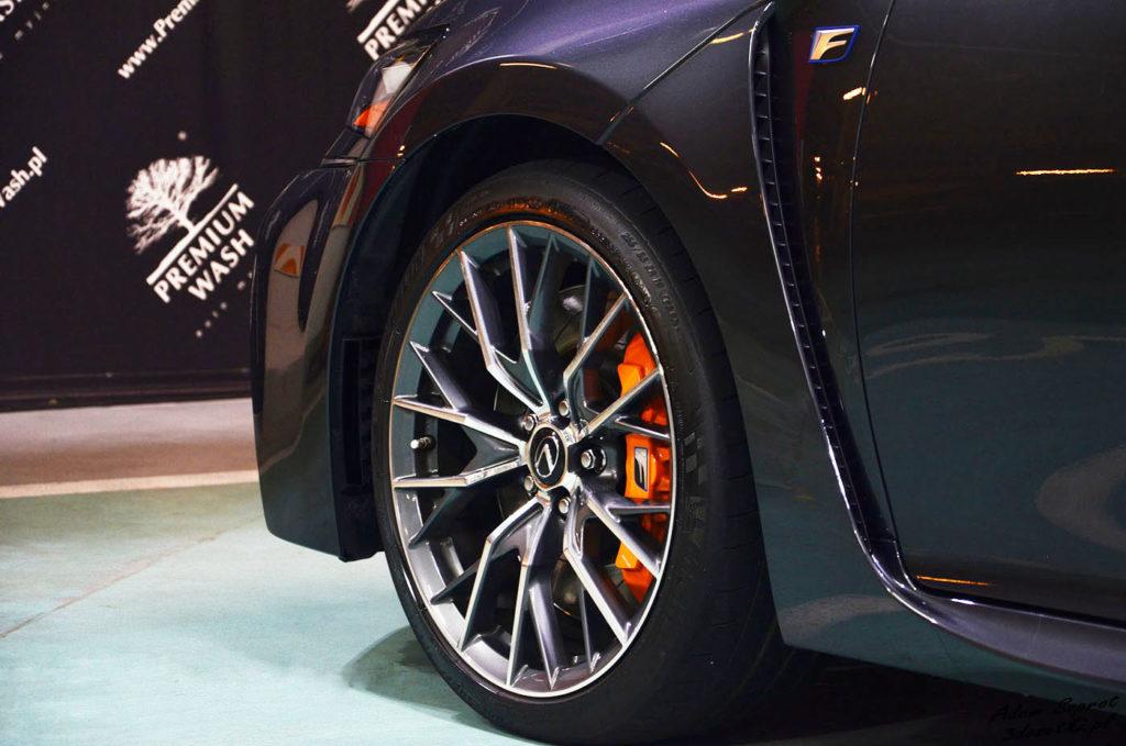 Koła Lexusa GS F, blog o motoryzacji