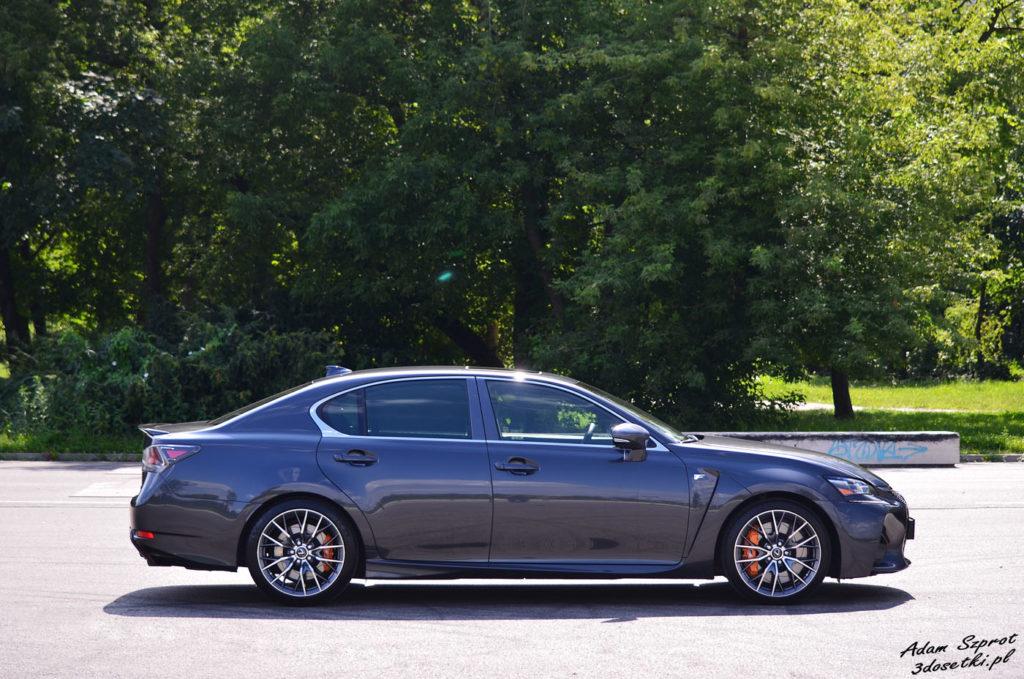 Test Lexusa GS F - blog motoryzacyjny, strona o samochodach