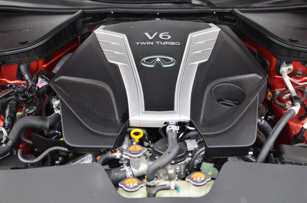 3 litrowy silnik twin turbo w Infiniti Q60