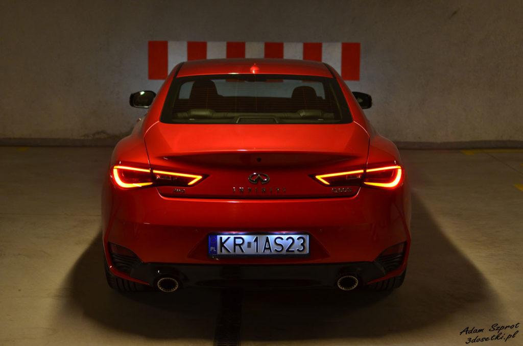Infiniti Q60 3,0T - światła - portal z testami samochodów