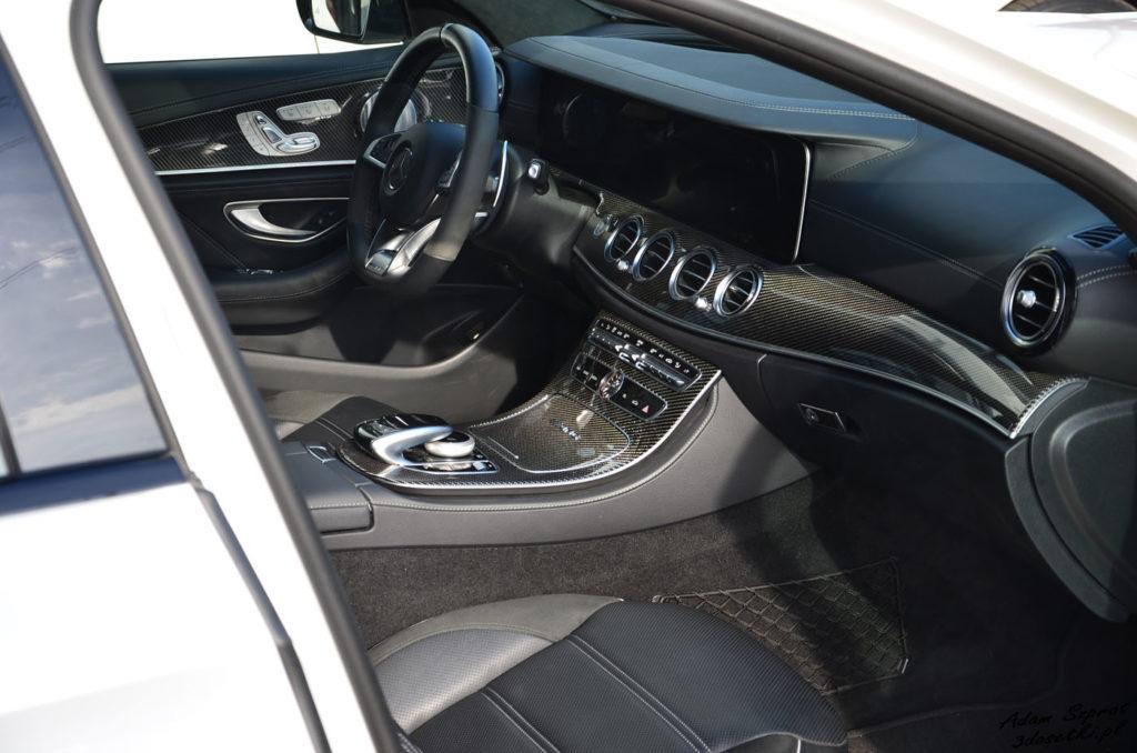 Test samochodu Mercedes-AMG E63 S - widok na karbon, testy samochodów