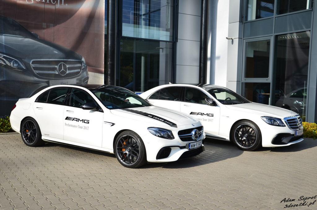 Porównanie samochodów Mercedes-AMG E63 S: Mercedes-AMG S63