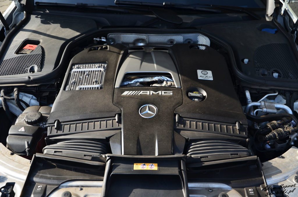 Test samochodu Mercedes-AMG E63 S - silnik