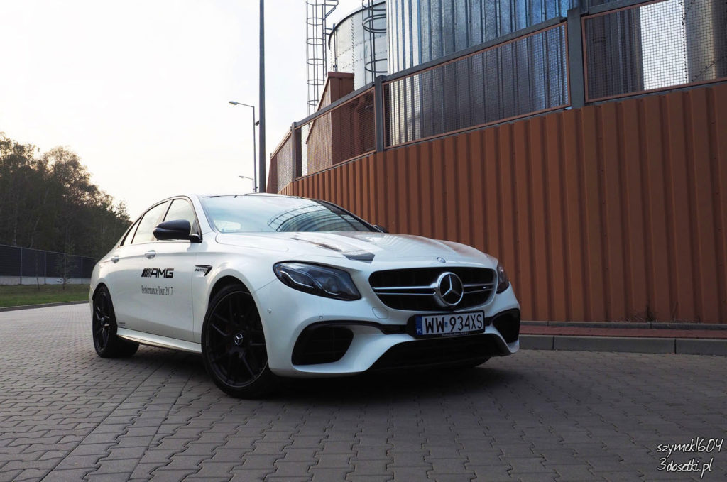 Test samochodu Mercedes-AMG E63 S