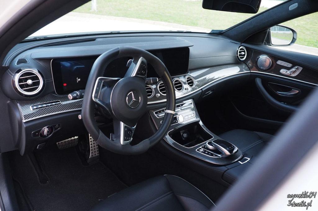 Wnętrze Mercedesa E 63 AMG