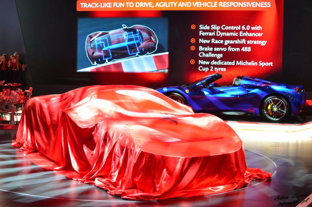 Ferrari 488 Pista - premiera motoryzacyjna, blog motoryzacyjny