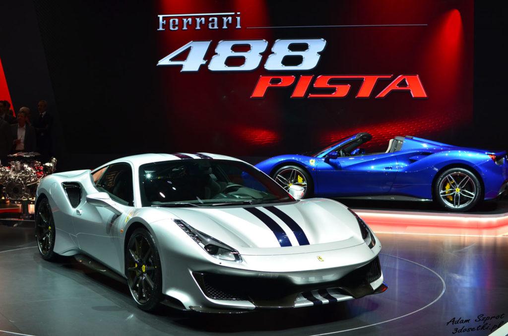 Ferrari 488 Pista na blogu motoryzacyjnym
