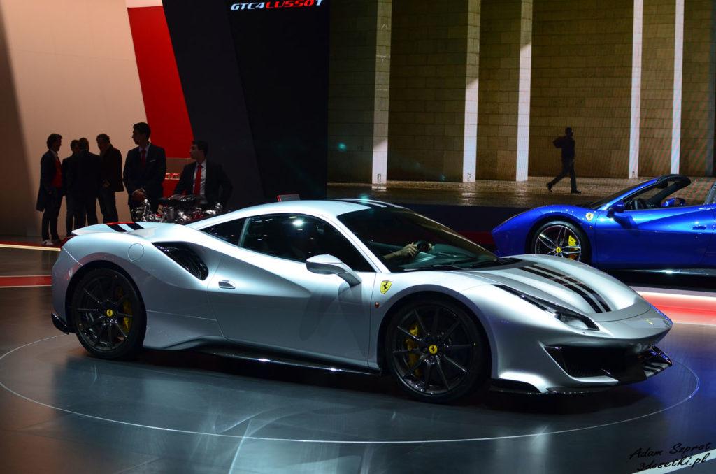 Ferrari 488 Pista - premiera