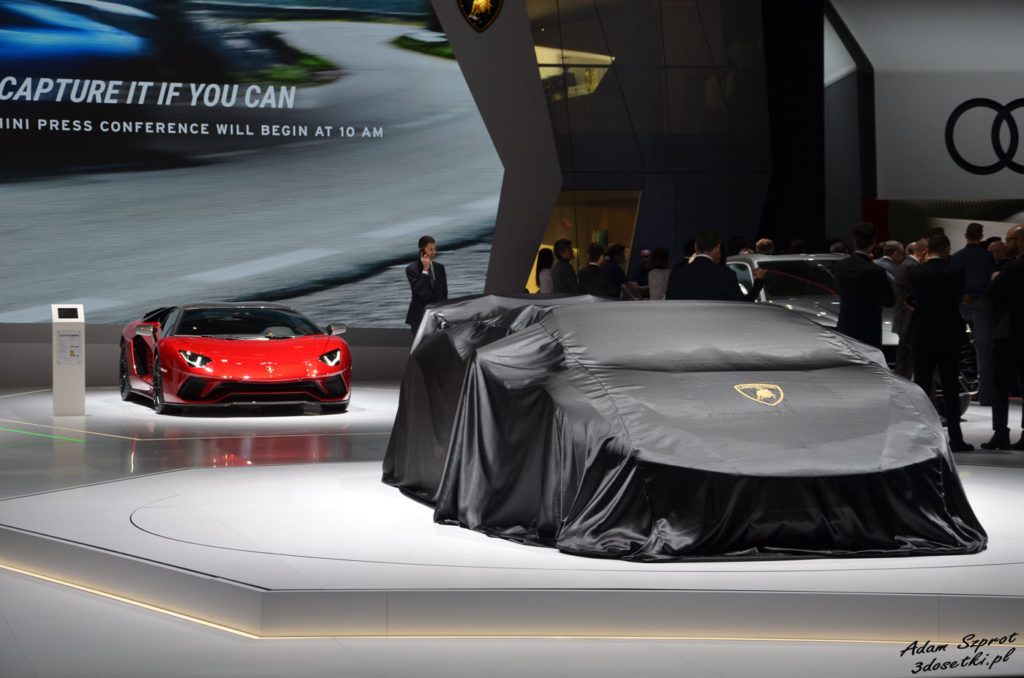 Lamborghini na Genewa Motor Show 2018