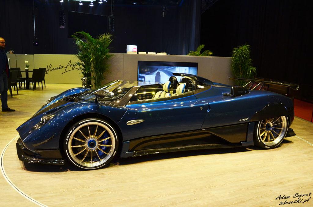 Genewa Motor Show 2018 - Pagani Zonda Barchetta