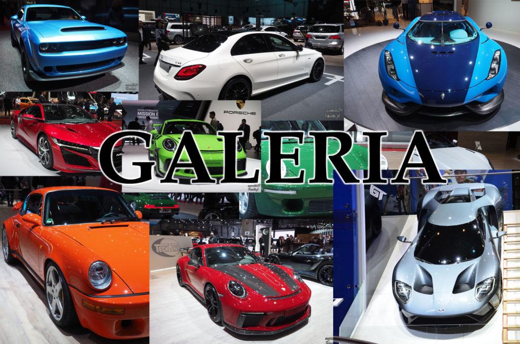 Galeria zdjęć z targów Genewa Motor Show 2018