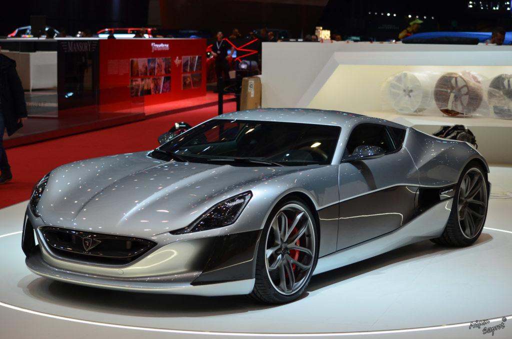 Rimac Concept One - elektryczny super-samochód